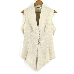 Vintage Edwardian Western Corset Flax Vest